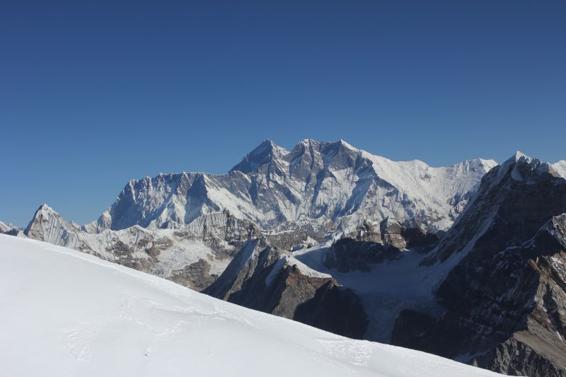 Everest from 6350m