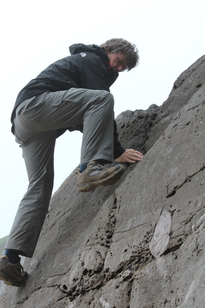 Stone Monkey Dyson at Dunmore Head, Dingle