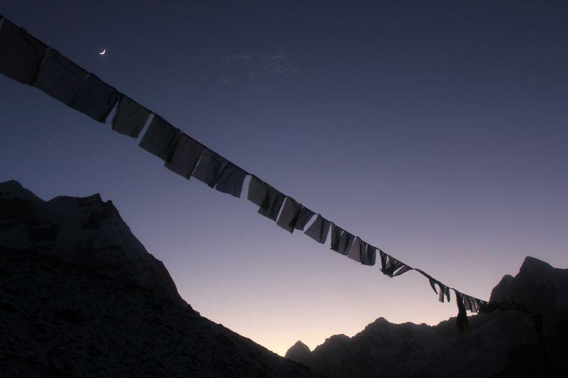 Evening Prayer flags