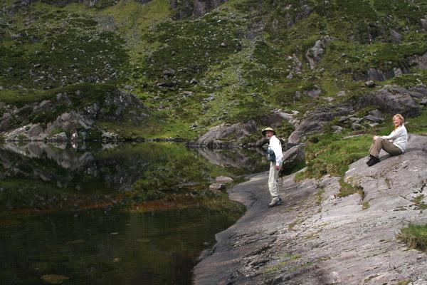 Tom & Jen at the Loch Doon