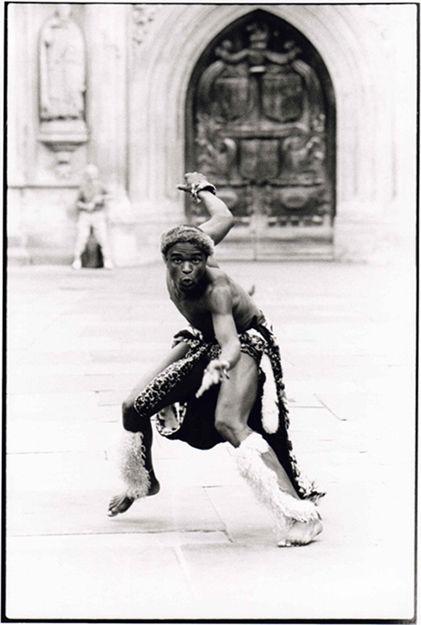 Afro Dancer, Bath Abbey 1998