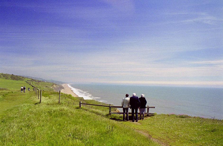 cliff path,2004