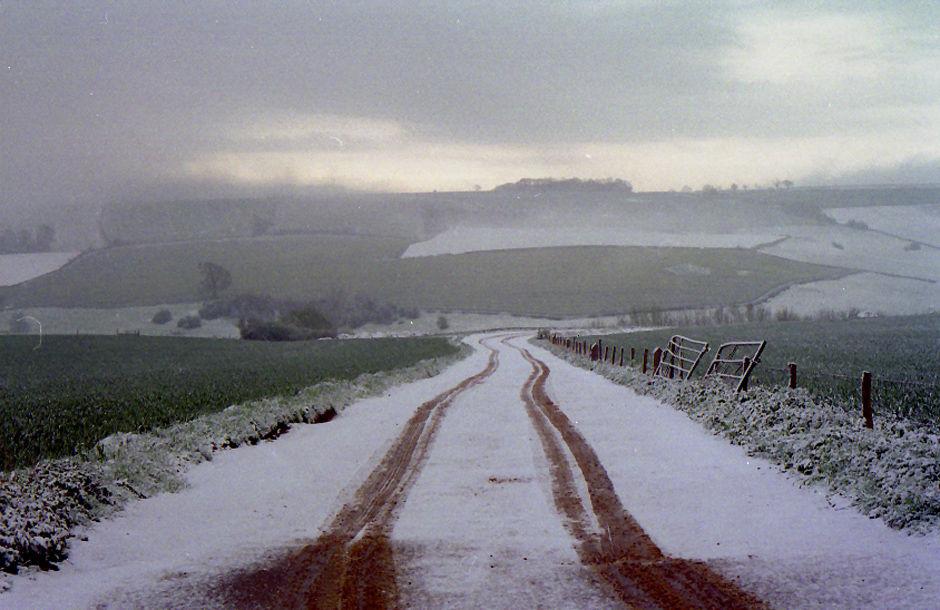 Winter landscape near Wellow, 1996