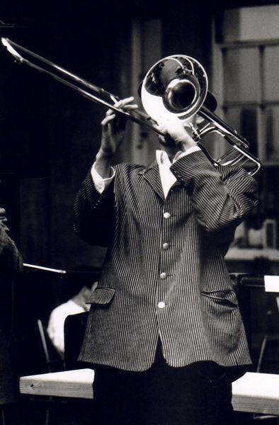 Jazz Trombone, Green Park, Bath 2003