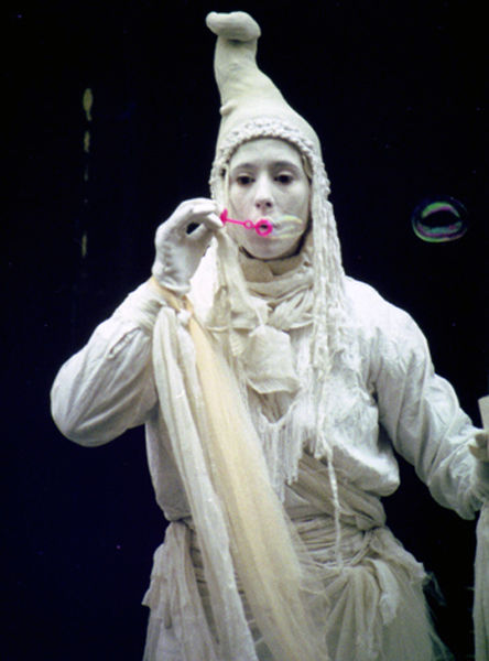 White Statue, Union Street, 1995