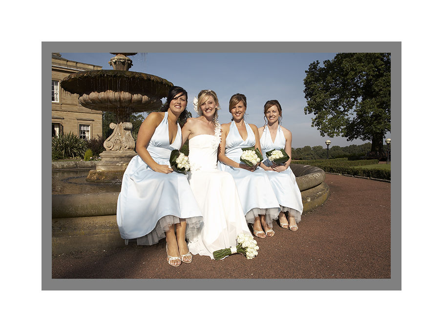 HELEN AND BRIDESMAIDS