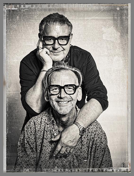 Detlef and Tim Hartley