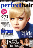 Perfect Hair Magazine - Front Cover AESTHETICS HAIR SALON