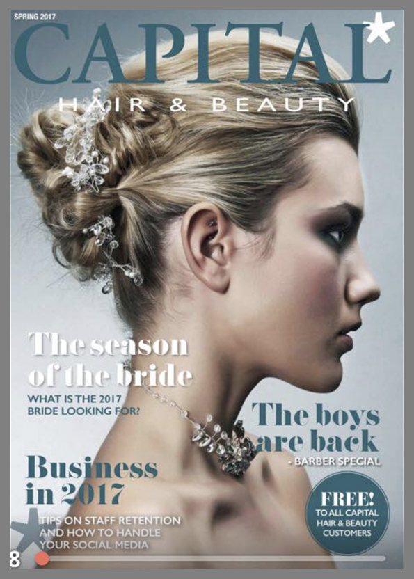 CAPITAL HAIR FRONT COVER