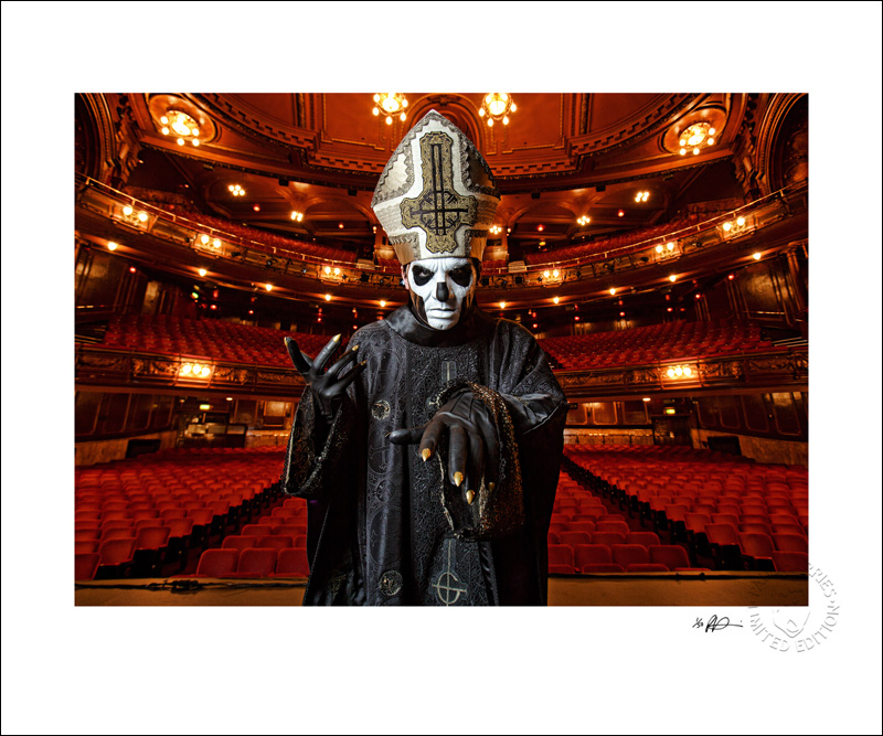 Papa Emeritus III at the London Palladium