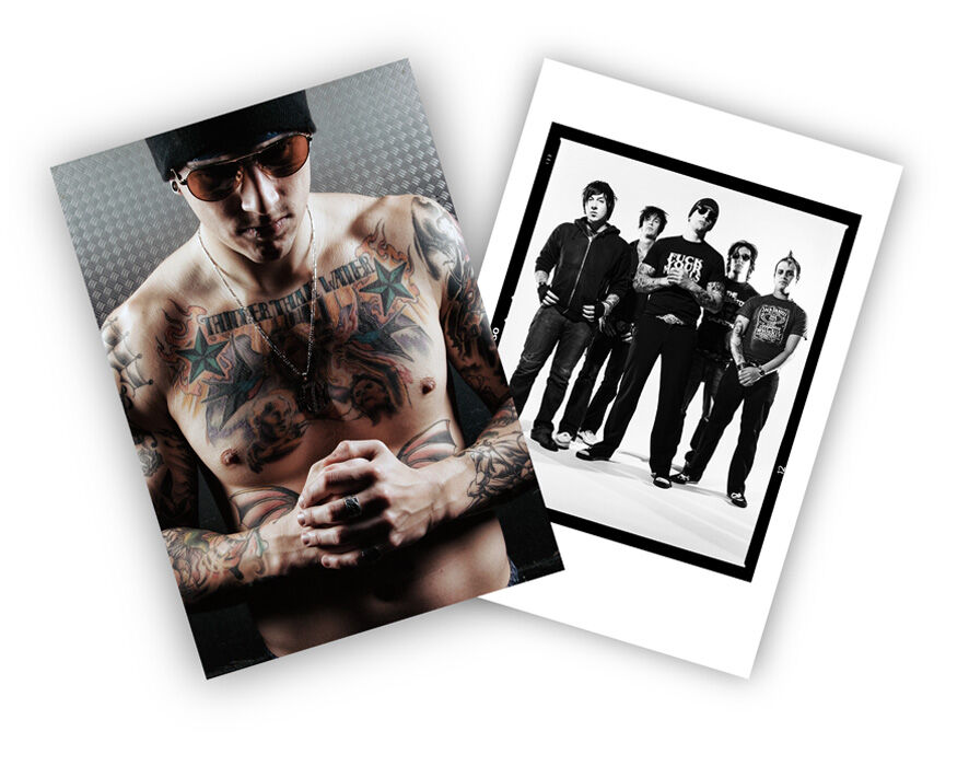 Avenged Sevenfold DOUBLE SIDED PRINT