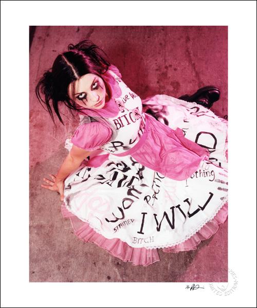 Amy Lee pink dress