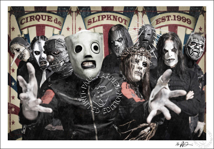 2015 Exhibition. Cirque De Slipknot