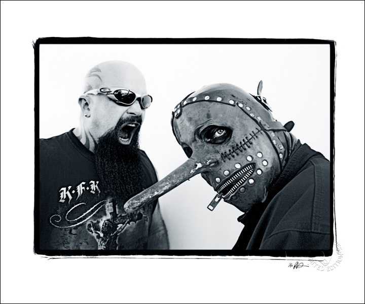 Kerry King -Slayer & Chris Fehn - Slipknot