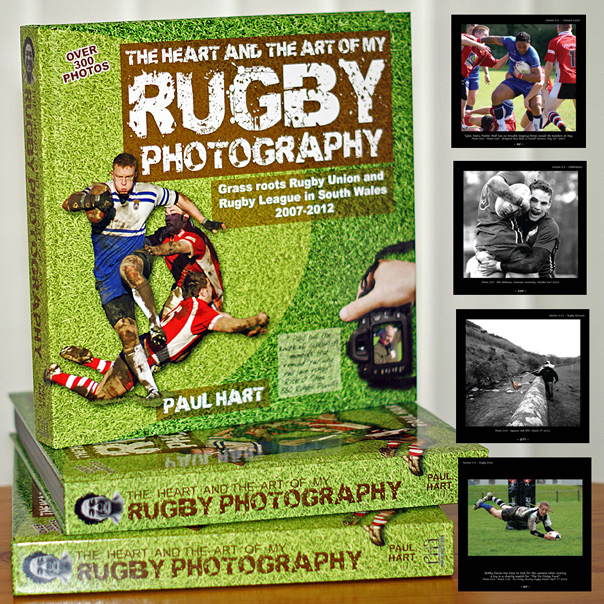 The Heart and the Art of my Rugby Photography (Customers outside UK)