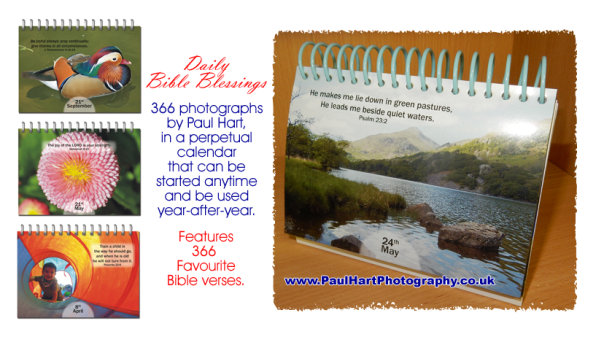 Daily Bible Blessings - Photographic Perpetual Calendar