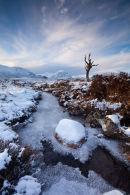 Mid Winter on Rannoch Moor