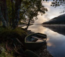 Boat on Loch Voil