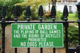 No dogs please in Kensington