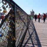 Pont des Arts, bridge of locks, Paris
