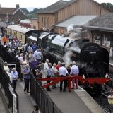 West Somerset Railway, Bishops Lydeard station.