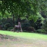 Knightshayes garden sculptures.