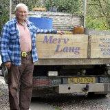 Merv Lang the waste expert.