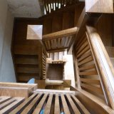 Lacock Abbey staircase, home of William Henry Fox Talbot