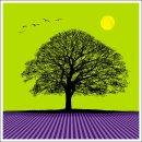Coloured Tree No 2