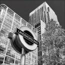 Underground Sign, Canary Wharf