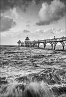 Clevedon Pier No 1 Black & White