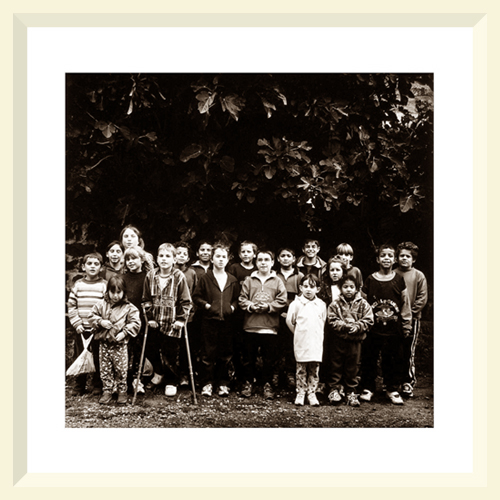 Children of Burdignes school - Parc Du Pilat - 2001