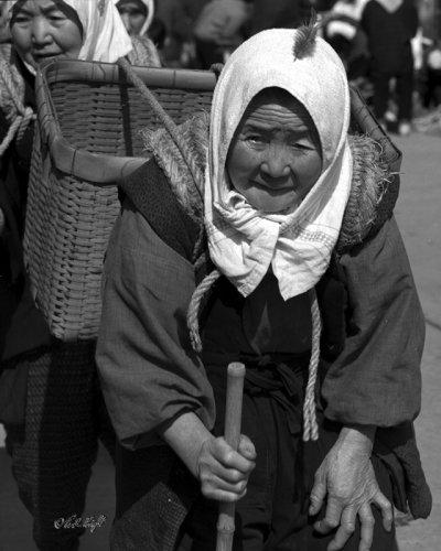1960s life, taken at Wajima morning market
