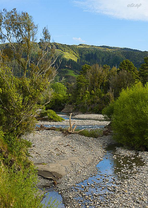 Ohau Stream at  Muhunoa East