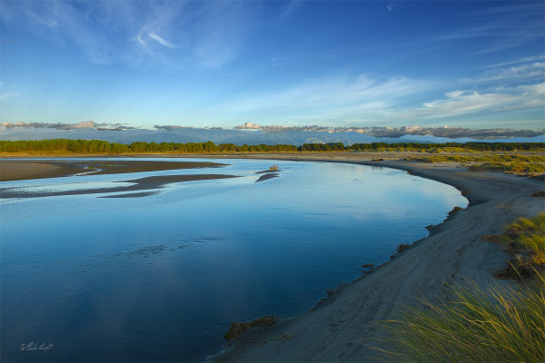 Ohau River at Kuku Beach 0606
