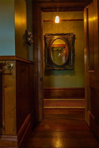 Salisbury Rd villa bathroom exit