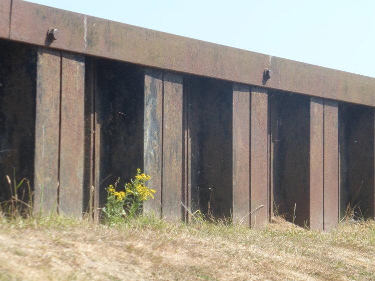 Steel piles Walberswick
