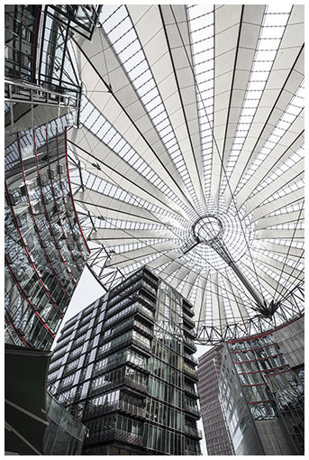 Sony Center in colour