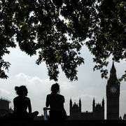 Westminster in Silhouette