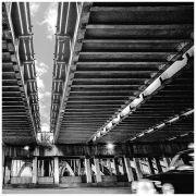 Taxi under the Bridge