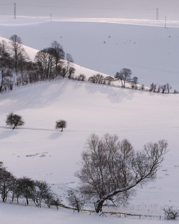 Snow & Sunlight in Deepdale