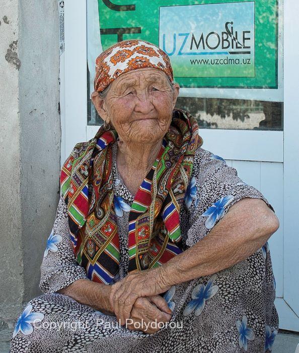 Woman in Bukhara