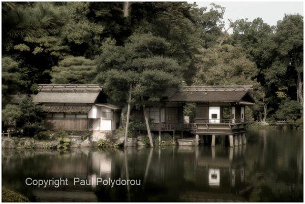Tea house, Kenrokuen Garden, Kanazawa