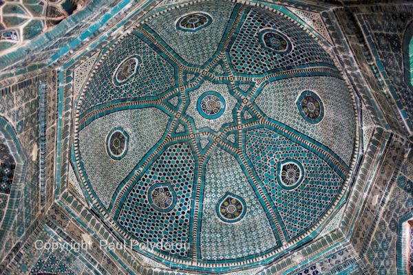 Dome interior of Shadi Mulk Aga