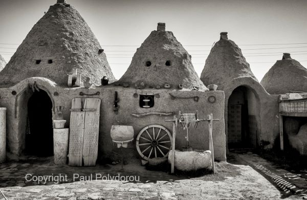 Harran beehive village2