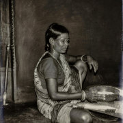 Khond Tribal village woman