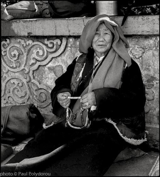 Tibetan Buddhist Lady