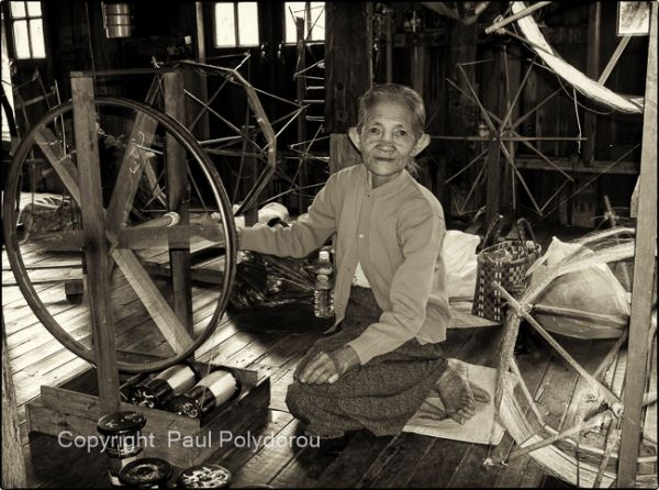 Textile workshop - Inle