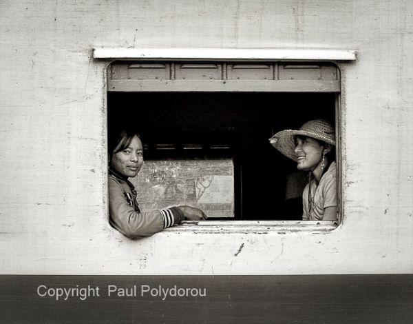 Girls on a train