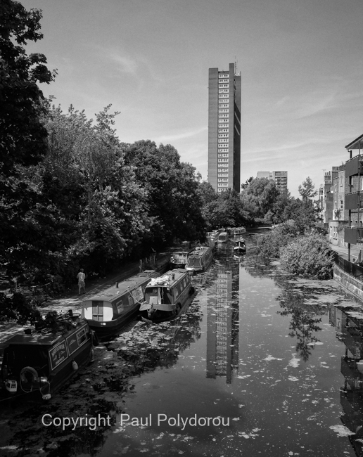 Trellick Tower / Grand Union Canal, London